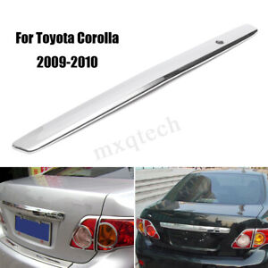 For Toyota Corolla 2009 2010 Sliver Car Rear Trunk Hatch Lid Trim Molding