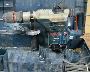 bosch 11264evs 1 5 8 Sds Max Corded Electric Rotary Hammer Drill W Case