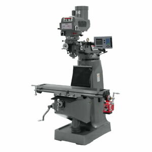 Jet 690179 Jtm 4vs 1 Mill With Acu rite 200s Dro With X axis Powerfeed