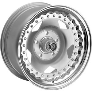 15x8 Polished Centerline Convo Pro 000p Wheels 5x4 5 0 Fits Ford Fairlane