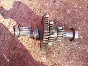 Farmall 560 Tractor Ih Bottom Lower Transmission Double Drive Gear Gears Shaft