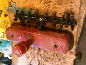 Farmall C A B Bn Tractor Original Ih Engine Motor Rocker Arm Assembly