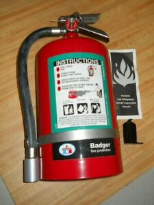 Badger 23082 11 Lb Halotron Fire Extinguisher W wall Hook Us Coast Guard New