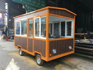 Brand New 3mx1 8m Electric Concession Stand Trailer Kitchen Ship By Sea