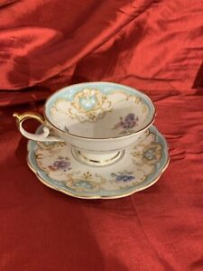 Antique Tea Cup And Saucer Set From Germany