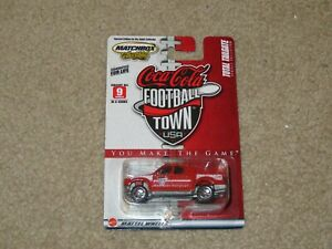 Matchbox Coca-Cola Football Town USA Ford Explorer Sports Trac Red 1:64 MOC 2004