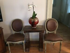 Pair Of French Antique Chairs