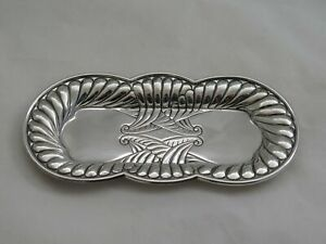 Antique Gorham Sterling Silver Small Dresser Pin Tray