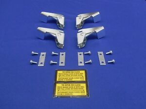 New Upgrade Usa Fits Lincoln Pipeliner Welder Sae 400 Door Latch Hook Set 4 Each