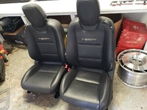 2012 Camaro Ss 45th Anniversary Black Ebony Leather Seats Front Rear Dual Power