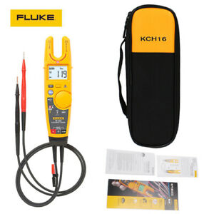Fluke T5 600 soft Case Kch16 Clamp 600v Continuity Current Electrical Tester