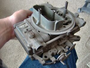 Vintage List 4239 S Holley 4 Barrel Carburetor 730 Cfm