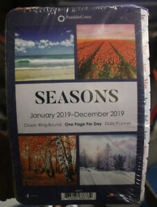 2019 Franklin Covey Classic Seasons Daily Planner Refill One Page Day 68673