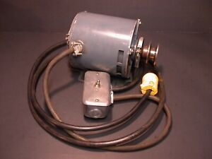 Excellent 1 3 Hp Pre wired Ge Lathe Motor