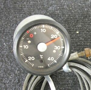 Vdo Vintage Car Thermometer Porsche 911 Accessory