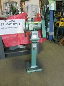 Burr King Model 960 250 Veritable Speed 115 230 Single Phase Sanding Grinder
