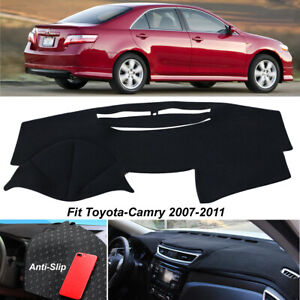 Dashboard Dashmat Cover For Toyota Camry 2007 2011 Non Slip Black Protect Carpet