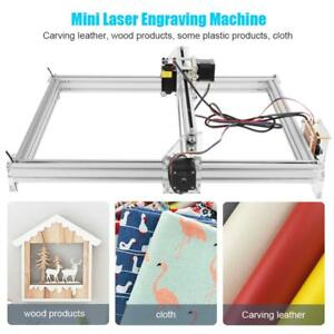 5500mw Cnc Laser Engraver Kit Wood Carve Cut Machine Printer Logo Picture 40x50