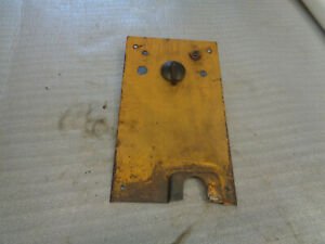 John Deere 1010 Crawler Dozer Panel Cowl Support Rear Key Light Swithes