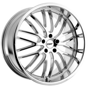Tsw Snetterton 19x8 5x100 35mm Chrome Wheel Rim