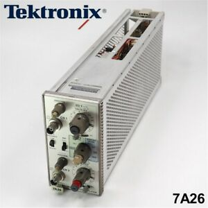 Tektronix 7a26 Dual Trace Amplifier Plug in Module
