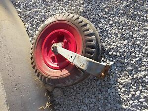 Mccormick Farmall F12 F14 Tractor Single Front End Frontend Wheel Tire Rim Yoke