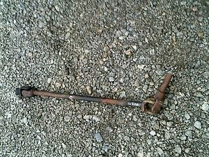 Farmall C Sc Tractor Ih Short Steering Shaft 2 Joint Connector Knuckles