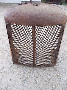 Allis Chalmers Ac Styled Wc Wd Tractor Original Front Nose Cone Grill