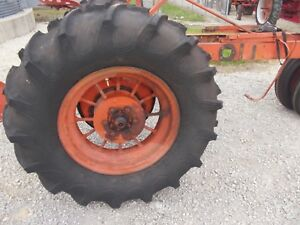 Firestone 14 9 24 Tractor Tires Allis Chalmers Unstyled Wc Round Spoke Fh Rims