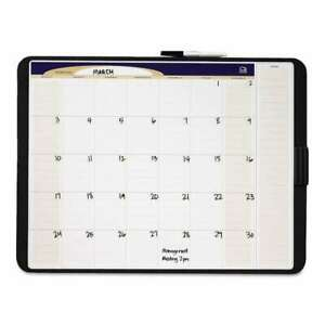 Quartet Tack Write Monthly Calendar Board 23 X 17 White Surf 034138594957