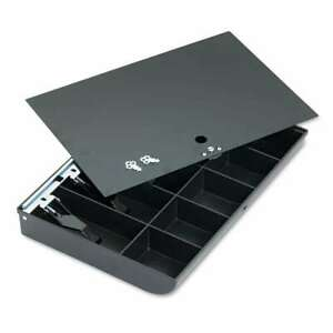 Steelmaster Cash Drawer Replacement Tray Black 078541256255