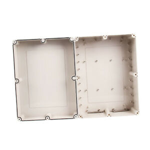 Waterproof Abs White Electronics Project Box Enclosure 12 6x9 45x5 51inch