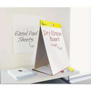 Post it Easel Pads Dry Erase Tabletop Easel Unruled Pad 20 X 23 053200029777