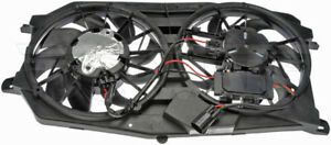 New Engine Radiator Dual Cooling Fan Assembly With Controller Dorman 621 044