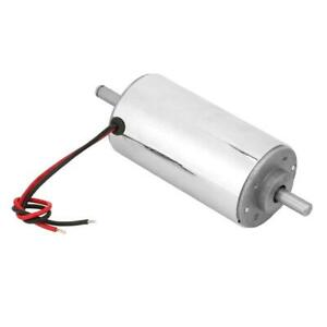 12 48vdc 400w High Speed Air Cooled Chromeplate Spindle Eco friendly Motor