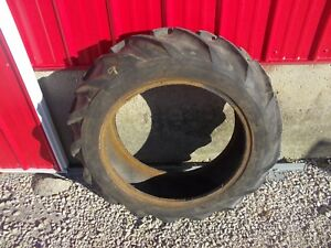 Ltr 9 5 X 24 Rear Tractor Tire Farmall B Bn A Ih 4 Ply Long Bar Tread