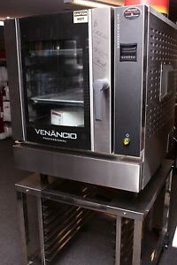 Small Footprint Commercial Gas Convection Oven Full Size Venancio Usa