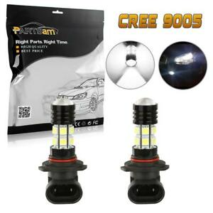 1 Pair High Power 9005 Hb3 9005xs Car Led Fog Driving Light Cree Chip Projector