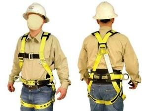 French Creek Size Large Full Body Industrial Safety Harness Fall Protection Ansi