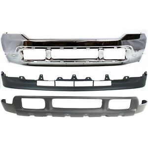 Bumper For 2001 2004 Ford F 550 Super Duty Front Kit
