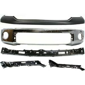 New Kit Bumper Cover Facial Front For Toyota Tundra 07 13 To1014100 521290c901