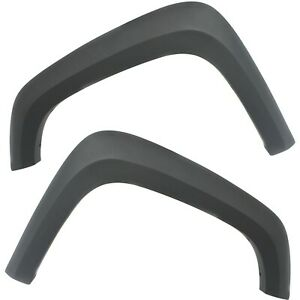 New Fender Flares Front Driver Passenger Side For Chevy Lh Rh Colorado Canyon