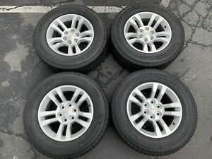 2018 Chevy Silverado Factory 18 Wheels Tires Oem Rims Tahoe 1500 5646 Suburban