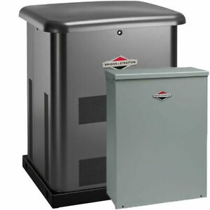 Briggs Stratton 8kw Home Standby Generator System steel 50a 10 circuit S