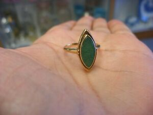 Vintage Victorian Style Jewelry 10k Gold Ring Size 7 2 20g 138
