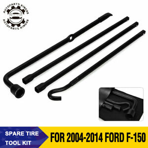 Jack Spare Tire Tool Kit For 2004 2005 2006 2008 2010 2011 2012 2013 Ford F 150