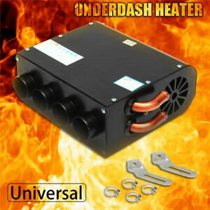 Universal Compact Heating Underdash Heater Switch Defroster Demister Qua hole