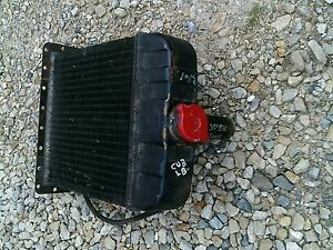 International Cub Lo Low Boy Lb Tractor Orgnal Ih Good Working Radiator Assembly