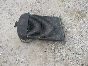 International Cub Low Boy Tractor Original Ih Radiator Assembly