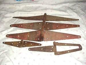 Antique Gate Hinges Barn Doors 16 Long Extra Large Plus Others